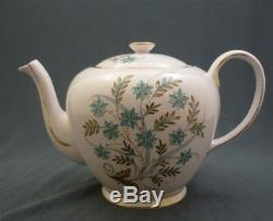 11 Piece Hand Painted Flora Tuscan England Fine Bone China Tea Set for 2
