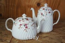 142 Pc Ancestral Minton Bone China Dinnerwear Set Service for 22 Tea England 376