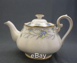 16 Piece Royal Albert England HEATHER BELL Bone China Tea Set Service For 4