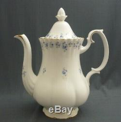 18 Piece Royal Albert England MEMORY LANE Bone China Coffee Set Service For 6