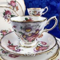 20 Pcs Royal Albert Lady Angela Bone China Dinner Set England Plate Tea Cup