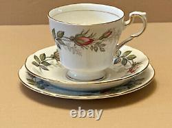 21 Piece Paragon Tea Set Bridal Rose Fine Bone China Made In England