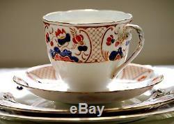 24 piece Tea Set Royal Grafton 5283 Bone China England Hand painted Mint condit