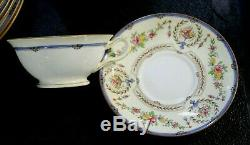 33 Pcs Minton China England Hampshire B1343 Dinner Setting for 8 SUPER CLEAN