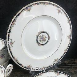 36 Pc NEW Wedgwood Osborne Dinnerware Set Bone China England Plate Cup Saucer