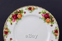 4 Five Piece Place Setting Royal Albert China Old Country Roses 20 Pieces Min