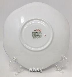 (4) Sets Shelley Dainty Blue Fine Bone China Tea Cups & Saucers England 051/28