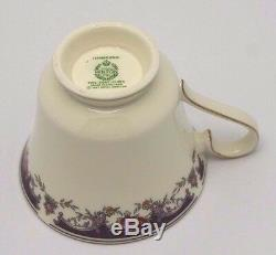 40pc Minton Hanbridge Dinner Set 8 Place Settings Bone China Made in England