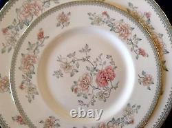 40pc Minton Jasmine Dinner Set 8 Place Settings Bone China Made in England