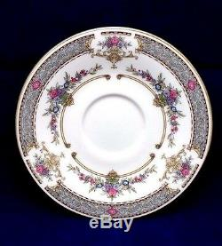 40pc Minton Persian Rose Dinner Set 8 Place Settings Bone China Made in England