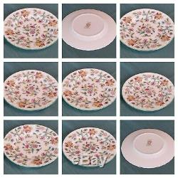 44-Piece Set Minton Haddon Hall Bone China Made in England