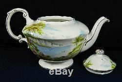 5-piece Paragon England Cliffs Of Dover Bone China (tea & Coffee Set)