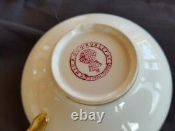 71 Piece Set Antique (1891- 1912) MINTON Fine Bone China Burley & Co. Chicago