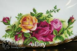 80 Pcs Royal Albert China Old Country Roses England Dinnerware 12 Place Settings