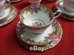 ANTIQUE PARAGON TEA SET FINE BONE CHINA ENGLAND 21 PIECES `1920's