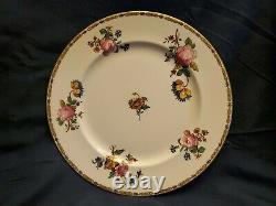 Antique 1905-1920 Aynsley England Bone China Set of 9 Dinner Plates 10.25