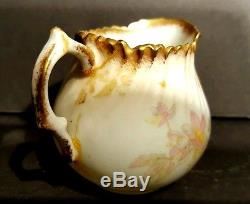 Antique Miniature Hammersley Bone China Tea Set with Tray Longton England c1912-39
