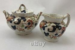 Antique Pottery China Losol Ware Keeling & Co Late Mayers 7 Pc. Set England 1920