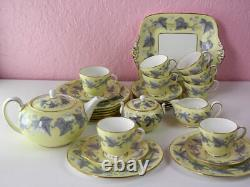 Antique Wedgewood Josephine Bone China Tea Cups, 8 dinner sets 28 pieces