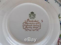 Aynsley Fine Bone China Pembroke made in England, 7 piece setting