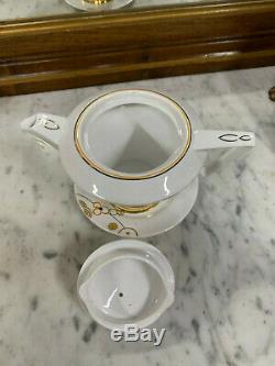 Beautiful 1930s Art Deco Tea For One Set Anchor China, Bridgwood, England