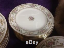 Beautiful 65 Pc set ROYAL DOULTON England Fine China ALTON H5055 Dinnerware NICE
