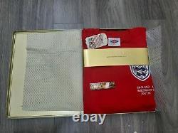 Box England World Cup 40th year 1966-2006 Umbro set 1766 shirt BNWT limited rare