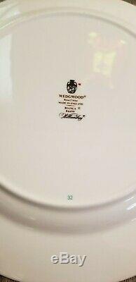 Boxed Set of 9 Wedgwood Bianca China Salad Plates Williamsburg Mark England