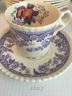 COPELAND SPODE MAYFLOWER ENGLAND Breakfast Set China Shabby Decor French Country