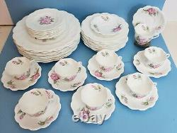 Coalport Camellia 42 pc. Set, Place Settings for 8, Bone China, Made in England