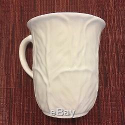 Coalport Set Of 2 White Countryware England Bone China Coffee Cup Mug Beaker
