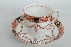 Colclough Bone China England Demitasse Set of Six Cups and Saucers 2098B