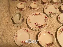 Copeland Spode England Fairy Dell China Set-84 Pieces Total Serving Plate 17x13