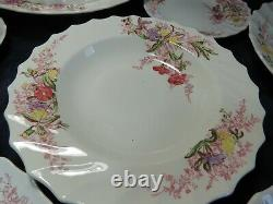 Copeland Spode Fairy Dell Made in England Vintage Fine China Set 86 piece