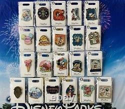 Disney Epcot World Showcase Set Of 21 Pins New OE England Germany Mexico Japan