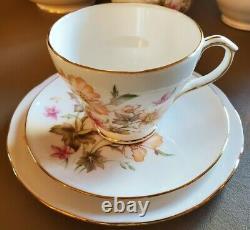 Duchess China Pattern Colette Tea Set (65 pieces) great condition