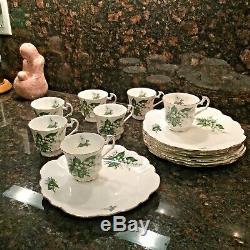 Elizabethan Fine Bone China Tea/Coffee Snack Sets (set of 7)