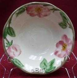 FRANCISCAN china DESERT ROSE England pattern 50-piece Set for TEN (10)