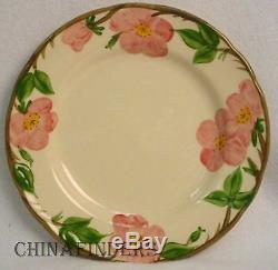 FRANCISCAN china DESERT ROSE England pattern 53-piece Set Eight (8)