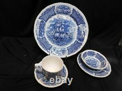 Fair Winds Set China Alfred Meakin Staffordshire England Service for 4 20 pc NIB
