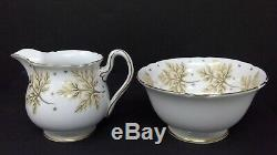 Fine Bone China Shelley England Coffee Set Coffee Pot, 5 C&S, & Creamer Sugar