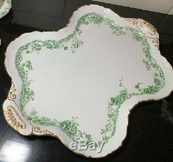 George Jones & Sons England Crescent China Porcelain Tea Set a3190 Teapot & more