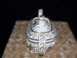 Grosvenor Bone China ROYCE 14 Piece Tea Service Set Made In England