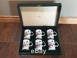 Gucci Fine Bone China Coffee Mug Set. Made in England. Never used. Collectible