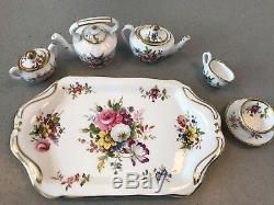 HAMMERSLEY England Bone China Howard Sprays Miniature Full Tea Set