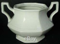 JOHNSON BROTHERS china HERITAGE WHITE Made in England 65-pc SET SERVICE for 12
