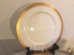 John Aynsley Bone China Argosy 24 Pcs Dinnerware Set, Gold Encrusted. England