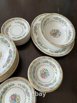 John maddock sons royal vitreous england china set