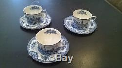 Johnson Bros England Old Britian China Tea Set