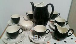 Johnson Bros England mid century china coffee set for 6 15 pieces the yacht race